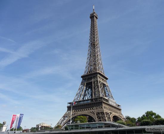 1 /19 - Aby sur la Seine avec la tour Eiffel