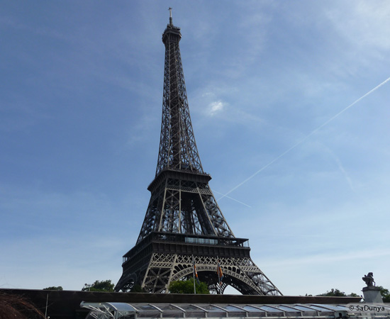 10 /19 - Aby sur la Seine avec la tour Eiffel