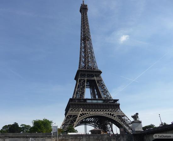 11 /19 - Aby sur la Seine avec la tour Eiffel