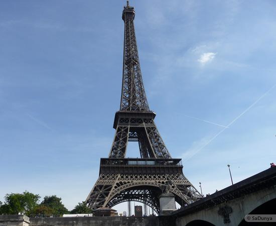 12 /19 - Aby sur la Seine avec la tour Eiffel