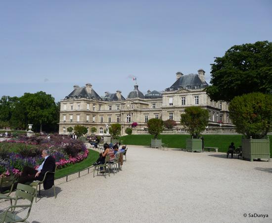 17 /19 - Aby sur la Seine et au jardin de Luxembourg