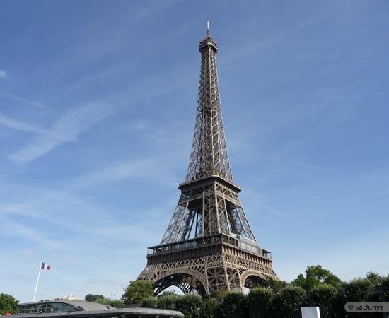 2 /19 - Aby sur la Seine avec la tour Eiffel