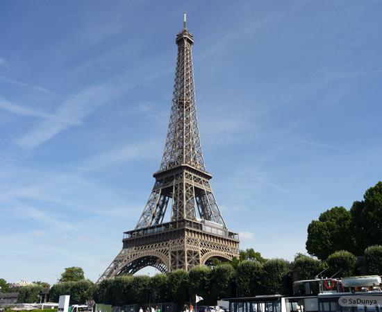 3 /19 - Aby sur la Seine avec la tour Eiffel