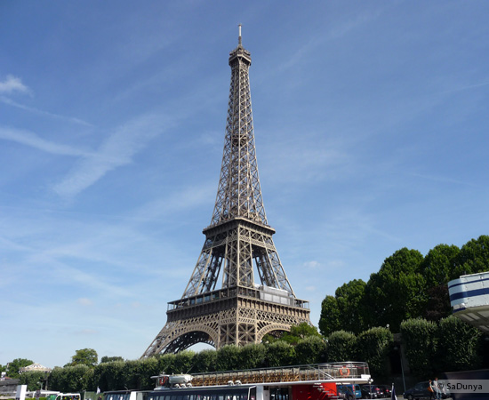 4 /19 - Aby sur la Seine avec la tour Eiffel