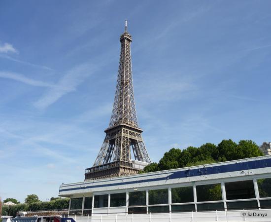 5 /19 - Aby sur la Seine avec la tour Eiffel