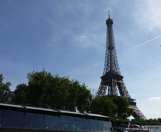 7 /19 - Aby sur la Seine avec la tour Eiffel
