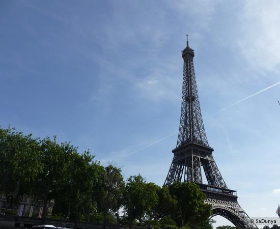 8 /19 - Aby sur la Seine avec la tour Eiffel