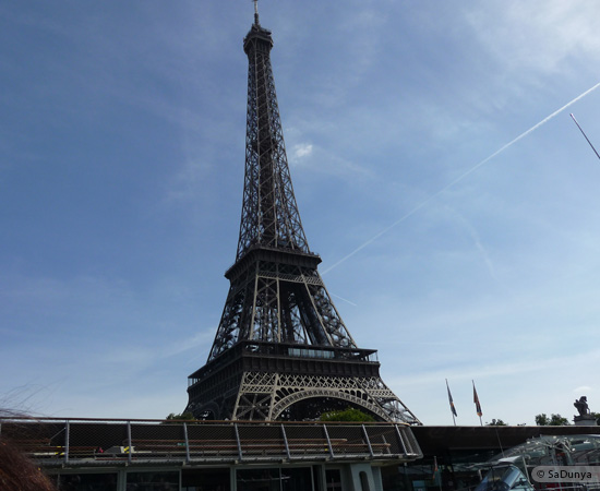 9 /19 - Aby sur la Seine avec la tour Eiffel