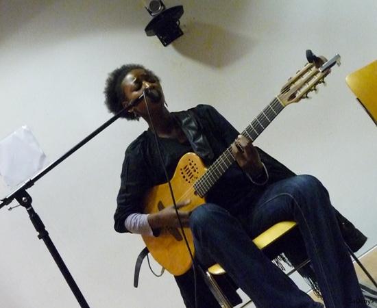 Concert d'Aïssate Ba - 1/16