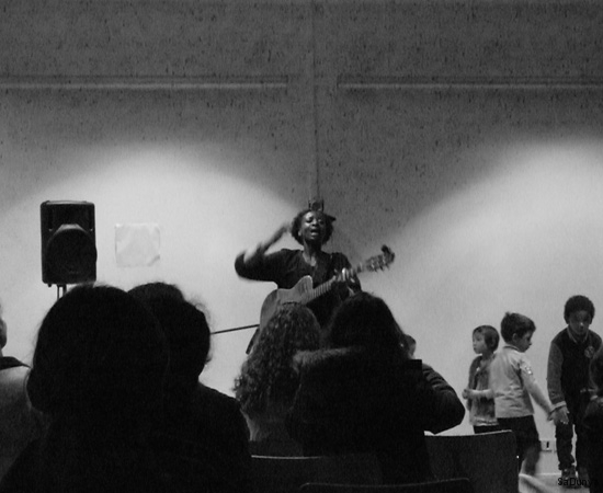 Concert d'Aïssate Ba - 10/29