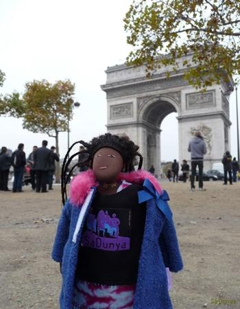 SaDunya à l\'Arc de Triomphe - 15/15