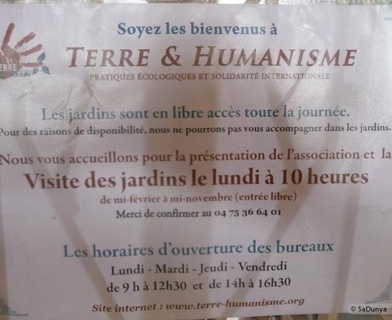 11 /48 - Ballade à Terre & Humanisme, en Ardèche