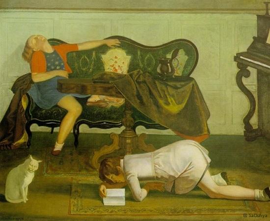 Le peintre Balthus - 234/28