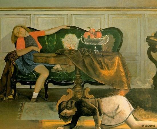 Le peintre Balthus - 23/28