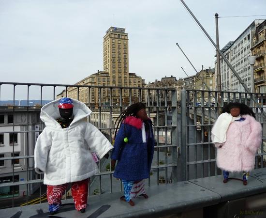 4 / 11 - la famille Ndiaye à la découverte de Lausanne