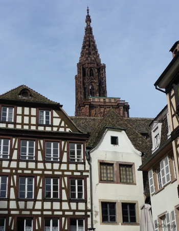 La cathédrale de Strasbourg, France - 6/20