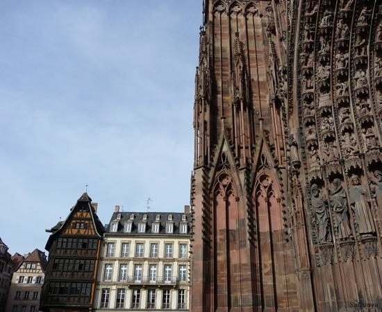 La cathédrale de Strasbourg, France - 8/20