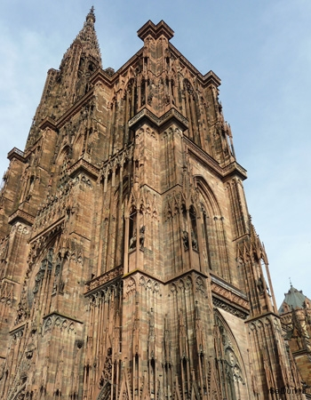 La cathédrale de Strasbourg, France - 10/20
