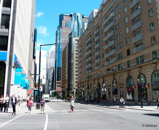 1 /25 - Centre ville de Montréal