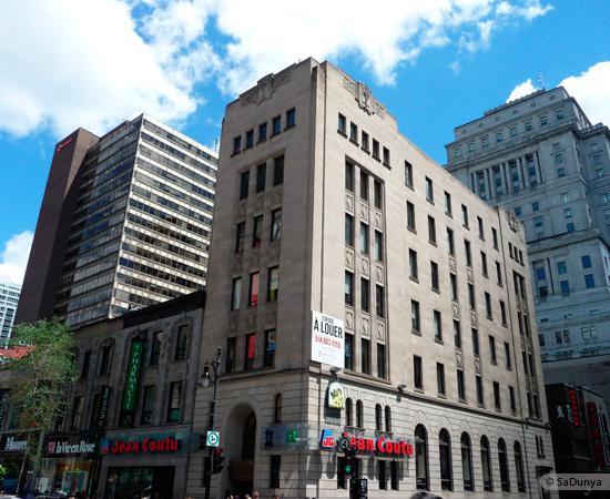 7 /25 - Centre ville de Montréal