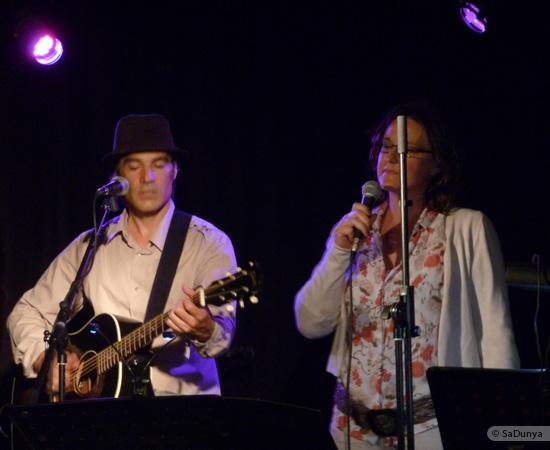 7 /11 - Daniela Albrecht chante avec Marcel Van Dam
