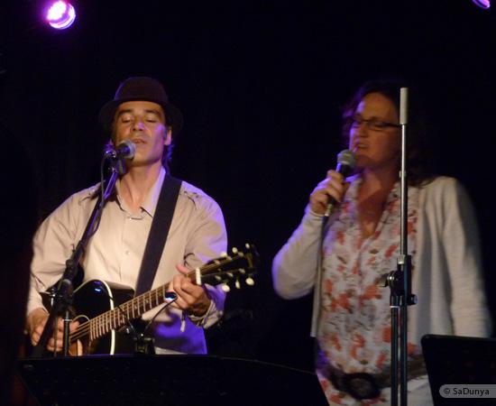8 /11 - Daniela Albrecht chante avec Marcel Van Dam