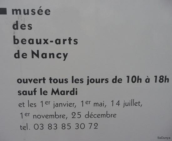 Doggy au Musée des Beaux-Arts de Nancy (France) avec Jean Prouvé - 1/12