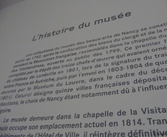 Doggy au Musée des Beaux-Arts de Nancy (France) avec Jean Prouvé - 5/12