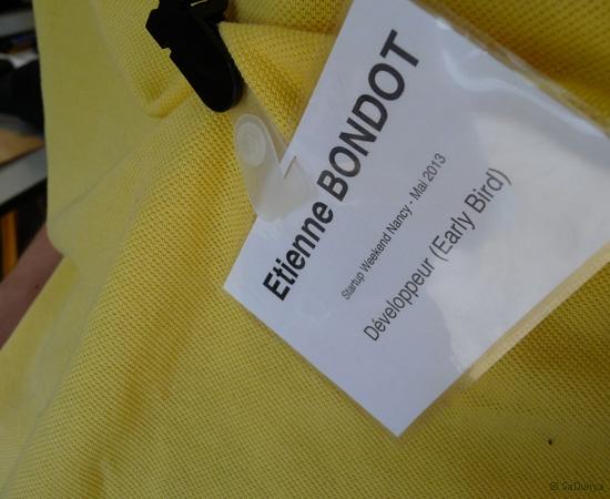 2 /10 - Etienne Bondot au Startup Weekend de Nancy