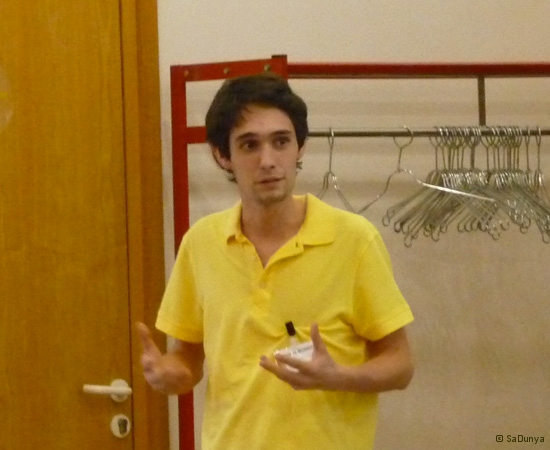 5 /10 - Etienne Bondot au Startup Weekend de Nancy