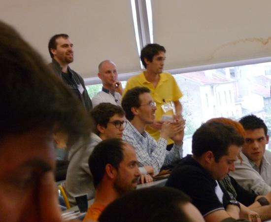 8 /10 - Etienne Bondot au Startup Weekend de Nancy