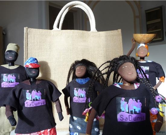 Les t-shirts SaDunya sur la famille Ndiaye - 3/11