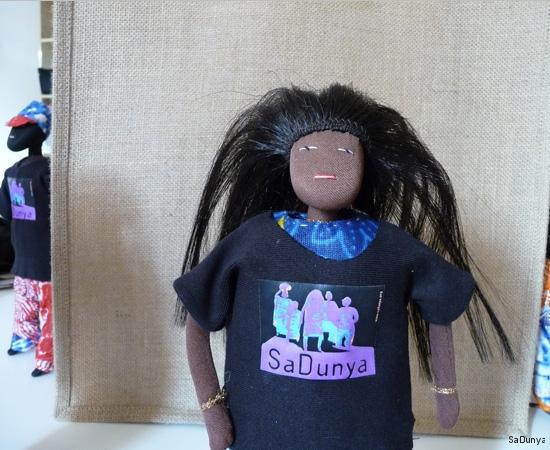 Les t-shirts SaDunya sur la famille Ndiaye - 8/11