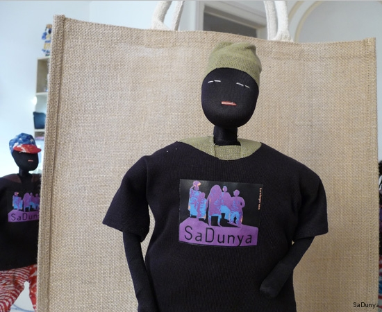 Les t-shirts SaDunya sur la famille Ndiaye - 10/11
