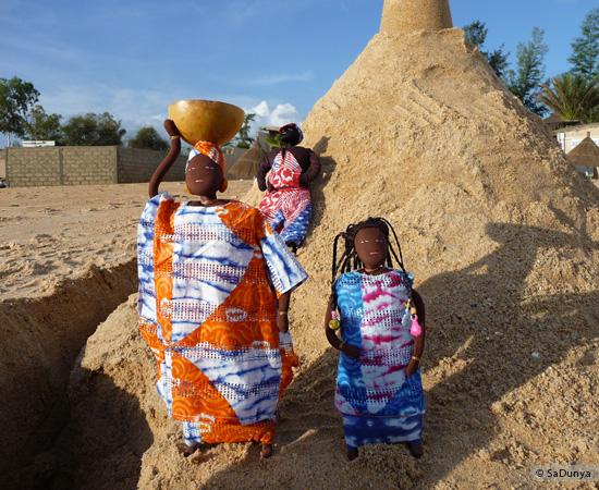 2 /8 - La famille Ndiaye de SaDunya à Somone