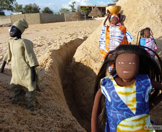 3 /8 - La famille Ndiaye de SaDunya à Somone