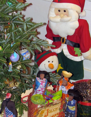 La Famille Ndiaye fête Noël à Indiana aux USA - 9/21