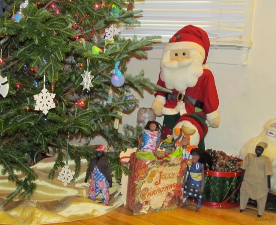 La Famille Ndiaye fête Noël à Indiana aux USA - 10/21