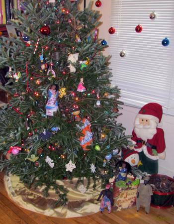 La Famille Ndiaye fête Noël à Indiana aux USA - 11/21