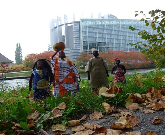 Les institutions européennes à Strasbourg, France - 3/11