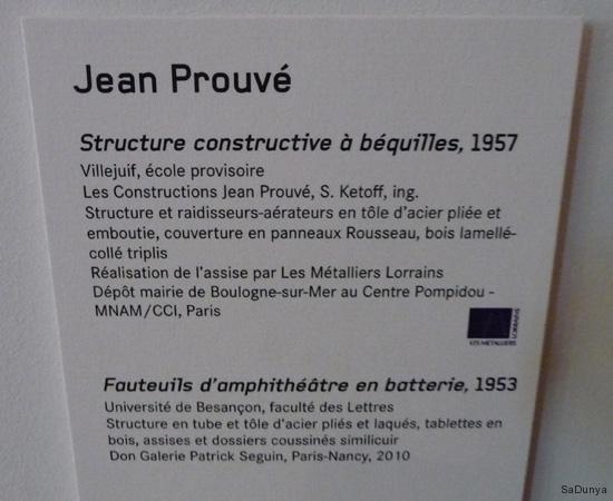 Jean Prouvé au Musée des Beaux-Arts de Nancy - 13/15