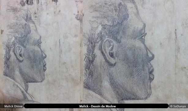 Malick Diène - dessin