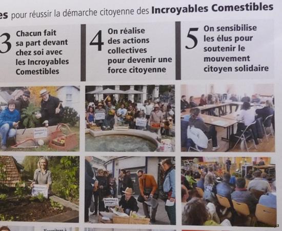 4 /30 Lancement des Incroyables Comestibles de Nancy