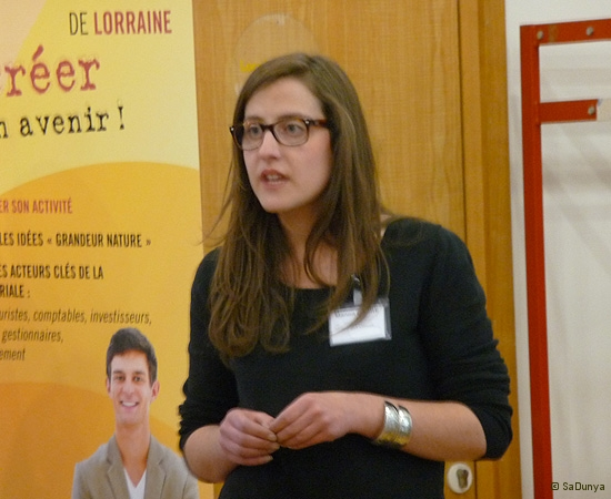 11 /14 - Manon Carre au Startup Weekend de Nancy