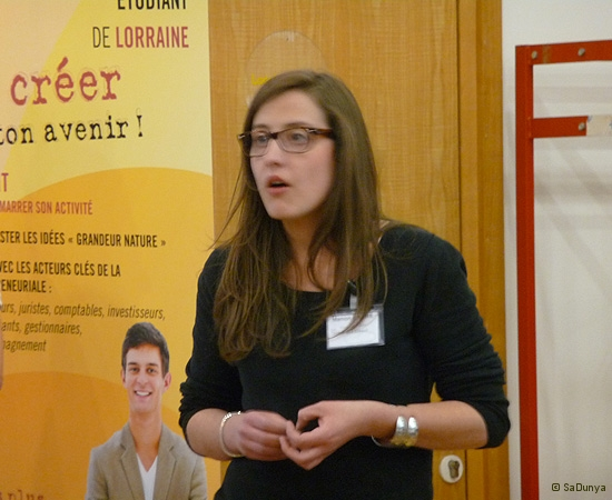 12 /14 - Manon Carre au Startup Weekend de Nancy