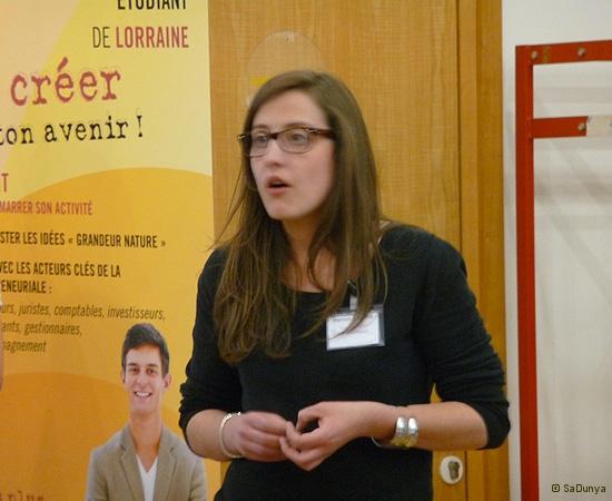 12 /14 - Manon Carre au Startup Weekend de Nancy