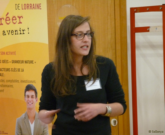 13 /14 - Manon Carre au Startup Weekend de Nancy