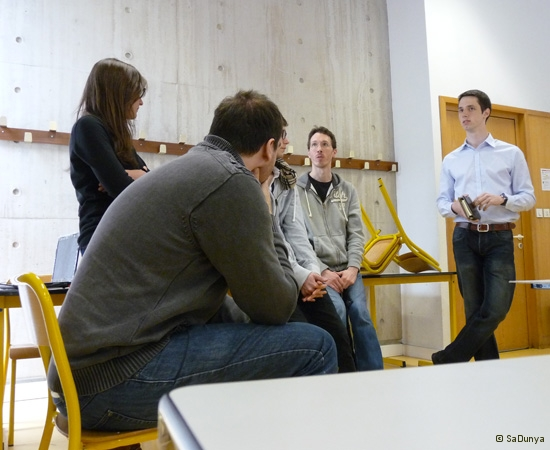 9 /14 - Manon Carre au Startup Weekend de Nancy