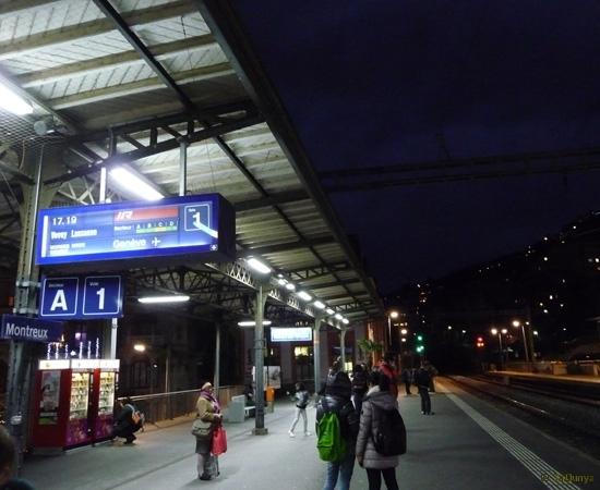 Voyage à bord du MOB (Montreux-Oberland-bernois) - 14/15