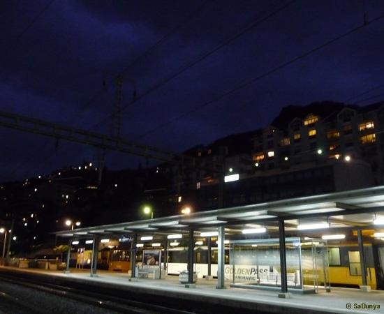 Voyage à bord du MOB (Montreux-Oberland-bernois) - 13/15